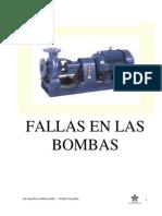 Curso de Bombas - Fallas