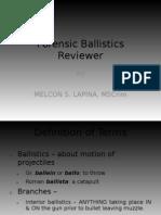 Forensic Ballistics Reviewer - Scribd