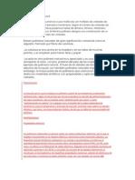 INVESTIGACION DE POLIMEROS