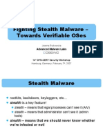 Fighting Stealth Malware