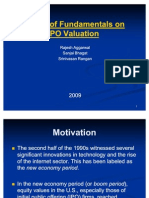 IPO Valuation