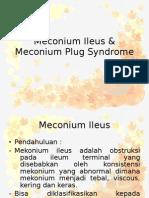 Meconium Ileus & Meconium Plug Syndrome