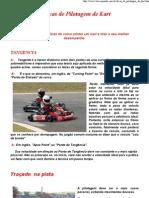 Dicas de Pilotagem de Kart