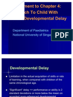 Supplement to Chapter 4 - Developmental Problems