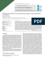 Modeling and Simulation of a Downdraft Biomass Gasifier 1. Model Development