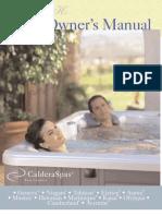 2008 Caldera 50Hz Owners Manual Rev B (English)