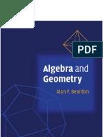 Algebra and Geometry by Alan F Beardon