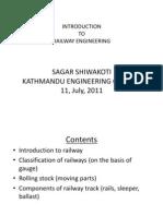 Introduction to Railway Engineering