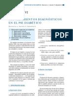 CAPÍTULO IX Procedimientos diagnosticos en el pie diabetico