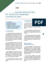 CAPÍTULO XIII Estrategias de prevencion en atencion primaria y hospitalaria