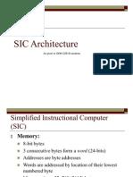 SIC Architecture