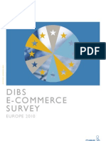 Dibs Ecommerce Survey Europe 2010