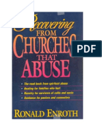 Recovering From Churches That Abuse by Ronald Enroth