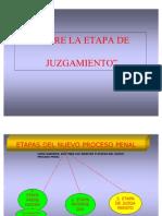 ETAPA DE JUZGAMIENTO