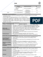 1-Page Cv Pgp27176