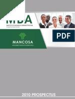 MBA Prospectus 2011