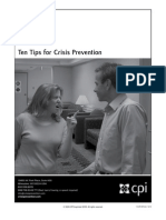 09-CPI-InT-007 Infocap10 Tips Crisis Prevention