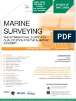 Diploma in Marine Surveying