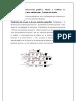 Qué tipos de interacciones genéticas afectan o modifican las proposiciones de las leyes mendelianas