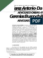 AÇÃO DE REVOGAÇÃO OU ANULAÇÃO DE DOAÇÃO COM ENCARGO - CECILIA KLERING  - 2009