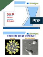Biologia A - Aula 02 (Vírus)