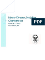 library director sea jellies clearinghouse