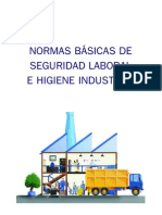 Normas Basicas de Seguridad Laboral e Higiene Industrial