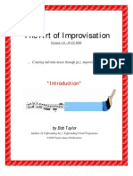 The Art of Improvisation Book1