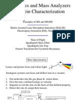Fundamentals of Mass Spec