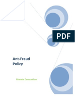 Patrick-Gitau Anti Fraud Policy