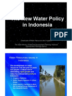 01 New Water Policy BAPPENAS [Compatibility Mode]