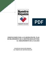 201103070156110.MINEDUC.orientaciones Para La Elaboracion Del Plan de Mejoramiento de La Gestion Escolar