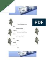 Trabajo de Microfinanzas Fecha 21 de Julio