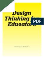 designing thinking for educators