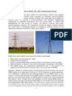 Adss Cables for High Voltage Installations