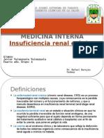 1. Insuficiencia Renal Cronica