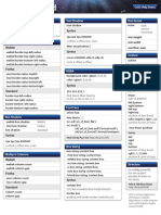 CSS3 Help Sheet Outlined