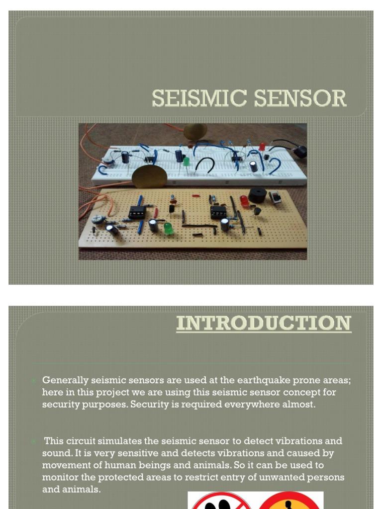 Seismic Sensor Amplifier Operational Vibration