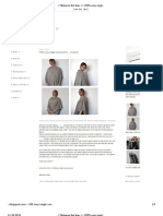 -- Between the Lines --- 100% Easy Single Seam Poncho -- A Tutorial