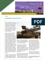 101108 SA002 Indonesian Crude Iron Ore