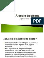 TecELÉCTRICA. Álgebra de Boole