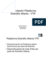 Capacitación Plataforma Scientific Atlanta VTR mar2009