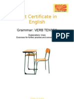 First Certificate in English Grammar