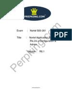 Prepking 920-261 Exam Questions