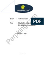Prepking 920-334 Exam Questions