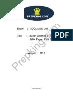 Prepking 3M0-701 Exam Questions