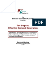 10 Steps to Effective DG - Dgauthority