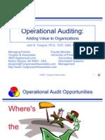 Ops Audit Sample