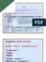 Definisi, Sejarah Perkembangan Hospitality Design