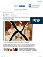 The Divorce Generation (WSJ.com July 09 2011